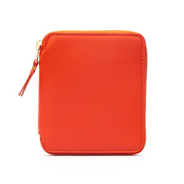 Portafoglio arancione con zip                                                                                                                         Comme Des Garcons Play SA2100 retro