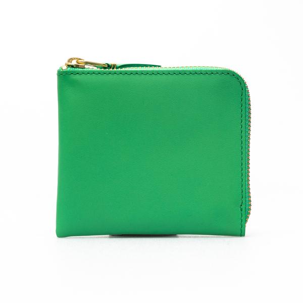 Portafoglio quadrato verde                                                                                                                            Comme Des Garcons Play SA3100 retro