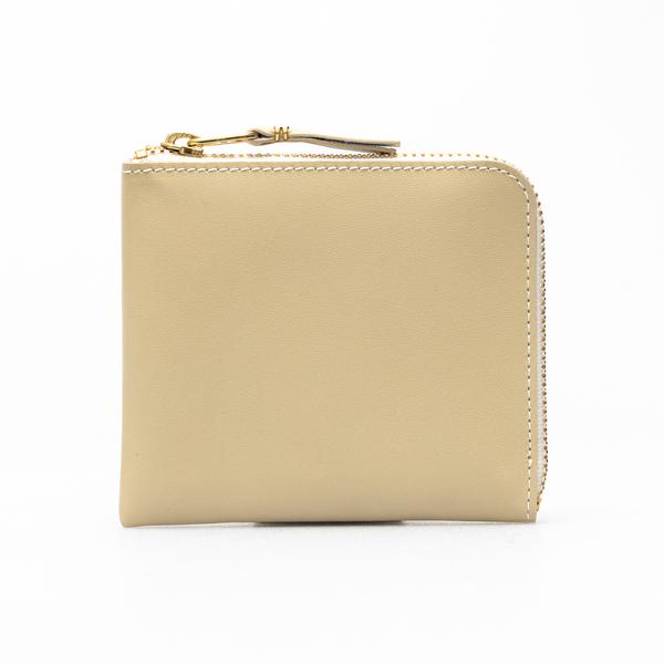 Portafoglio quadrato beige                                                                                                                            Comme Des Garcons Play SA3100 retro