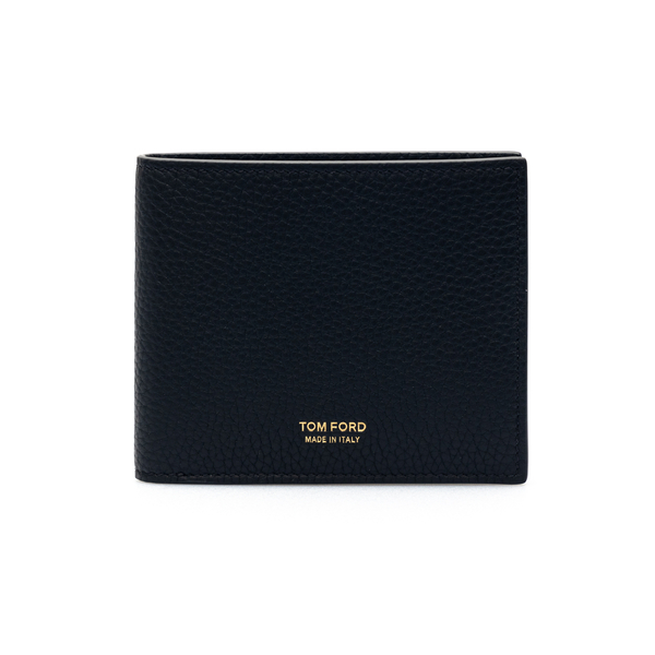 Portafoglio nero con piccola stampa logo                                                                                                              Tom Ford Y0228T retro