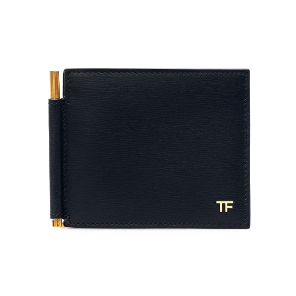 Black wallet with clasp                                                                                                                               Tom ford Y0231T front