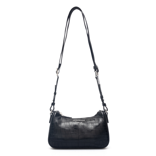 Leather shoulder bag                                                                                                                                  Emporio Armani Y3H274 back