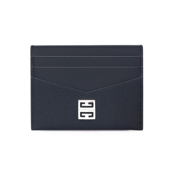 Portacarte nero con log argentato                                                                                                                     Givenchy BK6099 retro