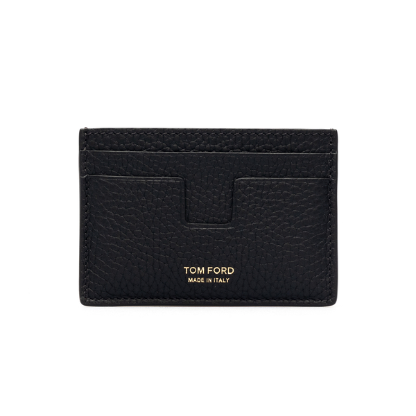 Black card holder with logo                                                                                                                           Tom ford Y0232T front