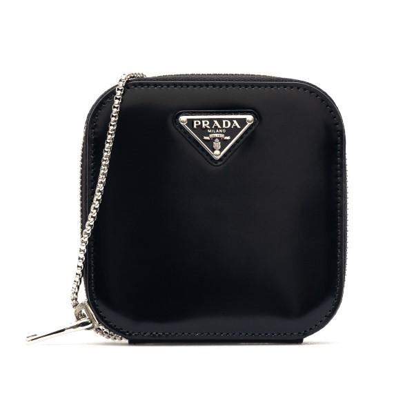 Pouch mini nera con logo                                                                                                                              Prada 1NR004 retro