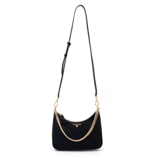 Black shoulder bag with gold chain                                                                                                                    Michael Kors 32F1GT9C8C back