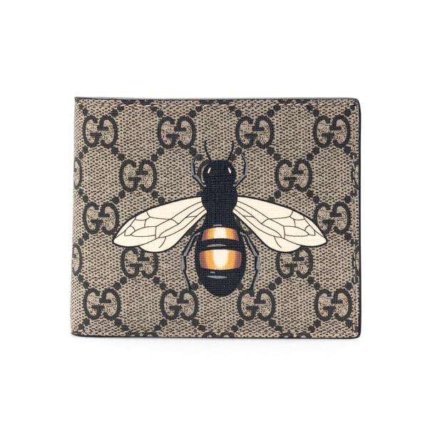 Portafoglio beige con stampa insetto                                                                                                                  Gucci 451268 retro