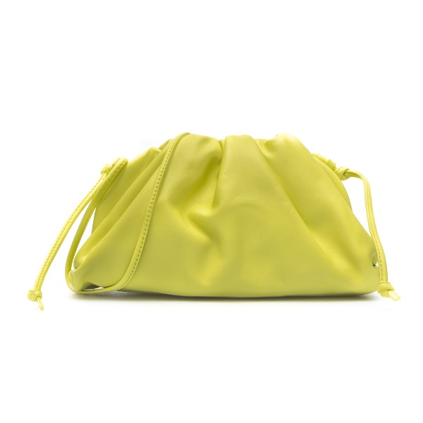Clutch mini colore giallo                                                                                                                             Bottega Veneta 585852 retro