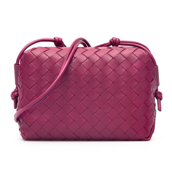 Mini braided bag                                                                                                                                      Bottega Veneta 666689 back
