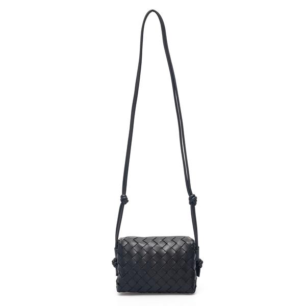 Mini bag with woven pattern                                                                                                                           Bottega Veneta 680254 back