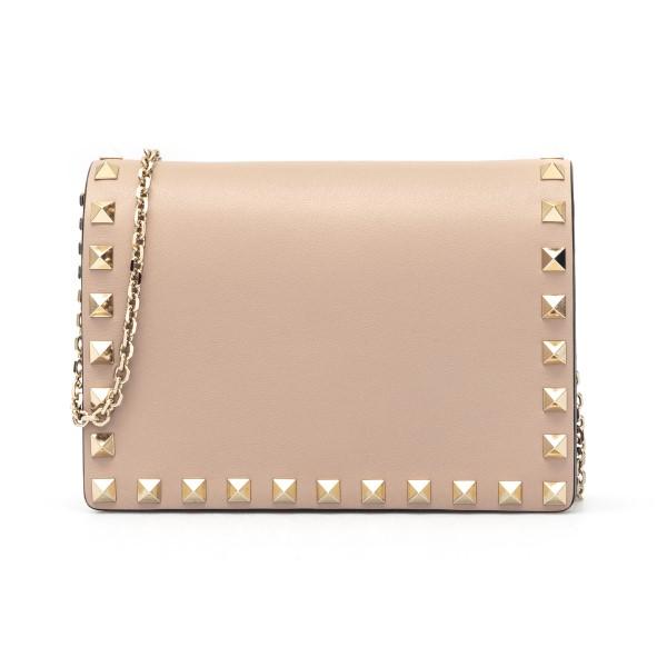 Pouch rosa con borchie oro                                                                                                                            Valentino Garavani VW2P0249 retro